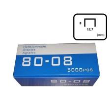 Häftklammer 80-08  8 mm