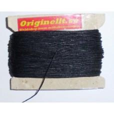vaxad lintråd svart 50m