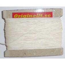 vaxad lintråd vit 50m