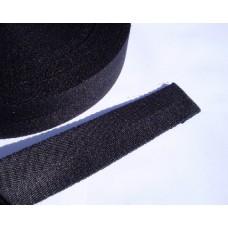 Linnesadelgjord svart 50 mm
