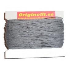 vaxad lintråd grå 50m
